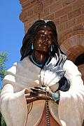 Santa Fe Magic - Kateri Tekakwitha Santa Fe by Susanne Van Hulst