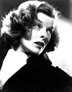 Katharine Framed Prints - Katharine Hepburn, Ca. 1936 Framed Print by Everett