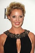 Four Seasons Hotel Framed Prints - Katherine Heigl At Arrivals For Elles Framed Print by Everett