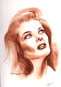 Katherine Hepburn Paintings - Katherine by Karl Opanowicz