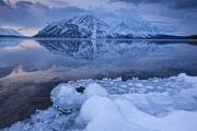 Kathleen Lake Photos - Kathleen Lake, Kluane National Park by Robert Postma