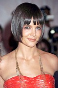 Katie Holmes Metal Prints - Katie Holmes At Arrivals Metal Print by Everett