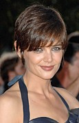 2000s Hairstyles Framed Prints - Katie Holmes At Arrivals For Los Framed Print by Everett