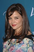 Katie Holmes Framed Prints - Katie Holmes At Arrivals For Varietys Framed Print by Everett