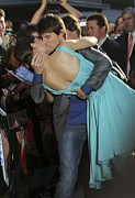 Katie Holmes Metal Prints - Katie Holmes, Tom Cruise At Arrivals Metal Print by Everett