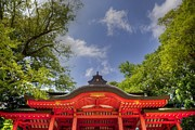 Shrine Photo Originals - Katori Shrine-2 by Tad Kanazaki