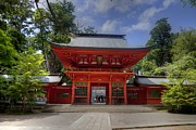 Shrine Photo Originals - Katori Shrine-3 by Tad Kanazaki