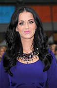 Katy Perry Prints - Katy Perry At A Public Appearance Print by Everett