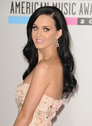 Drop Earrings Posters - Katy Perry At Arrivals For The 37th Poster by Everett
