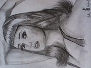 Katy Perry Drawings - Katy Perry Dedication by Shelby Rawlusyk