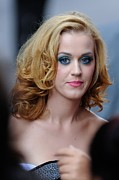 Katy Perry Art - Katy Perry, Enters The Ziegfeld Theatre by Everett