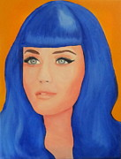 Katy Perry Painting Posters - Katy Perry Poster by Kristin Wetzel