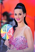 Katy Perry Art - Katy Perry On Stage For Nbc Today Show by Everett