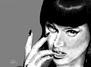 Katy Perry Metal Prints - Katy Perry Metal Print by Penny Ovenden