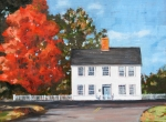 Picket Fence Originals - Katys House by Molly Wright