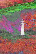 Lighthouse Digital Art - Kauai Lighthouse by Richard Henne