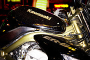 Chrome Framed Prints - Kawasaki Framed Print by Stylianos Kleanthous