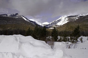 Mountains Digital Art Prints - Kawuneeche Valley - Rocky Mountain National Park Print by Ellen Lacey