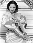 Puffy Sleeves Framed Prints - Kay Francis, Ca. Mid-1930s Framed Print by Everett
