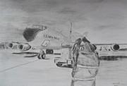 Kc-135 Study Print by Brian Hustead