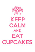 Andi Bird - Keep Calm Cupcakes -...