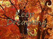 College Students Posters - Keep Dreaming Poster by Carol Groenen
