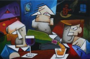 Bartender Paintings - Keep em Comin by Bob Gregory
