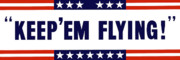 Government Posters - Keep Em Flying Poster by War Is Hell Store
