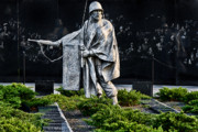 Korean War Memorial Photos - Keep Going...For Them by Christopher Holmes