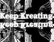 Photo Manipulation Mixed Media Posters - Keep Kreating Poster by Eleigh Koonce