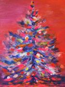Xmas Painting Originals - Keep Me in Christmas by Deb Magelssen