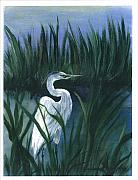 Watching Over Painting Posters - Keep of the Pond I Poster by Shirley Lawing