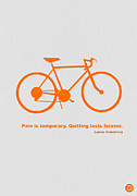 Bicycle Art Posters - Keep The Wheels Turning 2 Poster by Irina  March