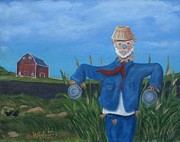 Scarecrow Originals - Keeper Of The Corn by Laura Spalinger