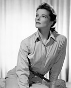 Films By George Cukor Prints - Keeper Of The Flame, Katharine Hepburn Print by Everett