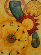 Timing Painting Prints - Keeping Time Print by Tracy Sorensen