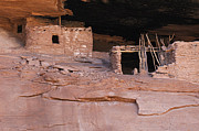 Cliff Dwellers Prints - Keet Seel Arizona 1 Print by Bob Christopher