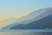 Dawn Photos - Kefalonia Dawn by Patricia Fenn Gallery