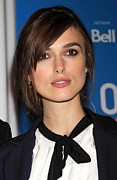 Toronto International Film Festival Tiff Framed Prints - Keira Knightley At The Press Conference Framed Print by Everett