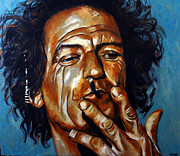 Keith Richards Art - Keith Keef Richards by Miche Watkins