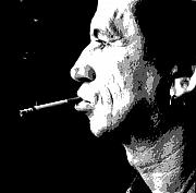 Keith Richards Painting Originals - Keith Richards by Dan Carman
