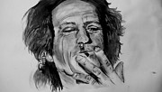 Keith Richards Mixed Media - Keith Richards by Ellie  Green