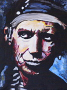 Keith Richards Art - Keith Richards by Martin Putsey