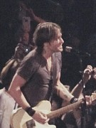 Keith Urban Print by Todd Sherlock
