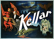 Tricks Posters - Kellar Poster by Unknown