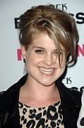 Updo Metal Prints - Kelly Osbourne At Arrivals For Nylon + Metal Print by Everett