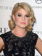 Kelly Prints - Kelly Osbourne At Arrivals For The Art Print by Everett