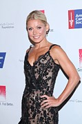 Black Lace Prints - Kelly Ripa At Arrivals For 27th Annual Print by Everett