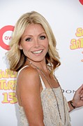 Kelly Photo Framed Prints - Kelly Ripa In Attendance For Super Framed Print by Everett