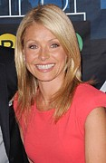 Kelly Ripa Inside For Kelly Ripa Wax Print by Everett